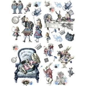 Belles and Whistles Alice in Wonderland Transzfer