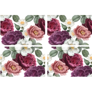 Belles and Whistles Floral Romance Transzfer