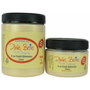 Gold Shimmer Glaze