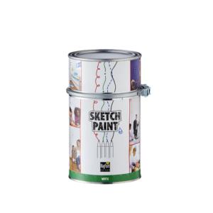 SketchPaint White 1 L Gloss