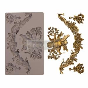 "Redesign Dekor Szilikon forma - Divine Floral - 5"" x 8"", 8mm thickness"