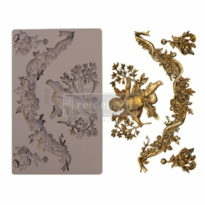 """Redesign Szilikon forma - Divine Floral - 5"""" x 8"""", 8mm thickness"""