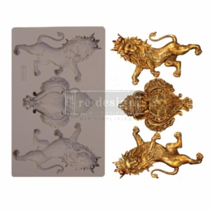 """Redesign Decor Moulds® - Royal Emblem - 5"""" x 8"""", 8mm thickness"""