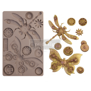 """Redesign Szilikon Forma® - Mechanical Insectica - 1 pc, 5""""x8"""", 8mm vastag"""