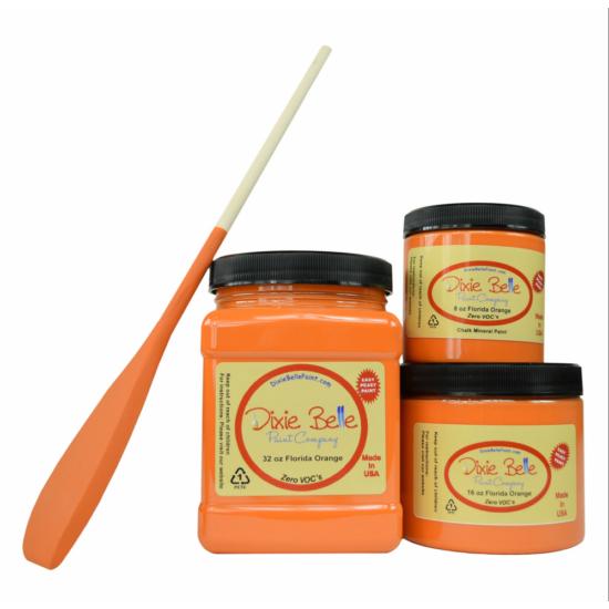 Chalk Paint Florida Orange