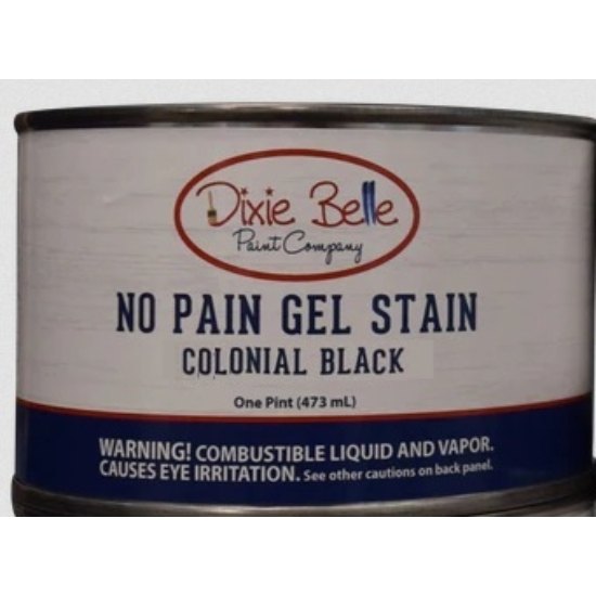 No Pain Gel Stain Colonial Black