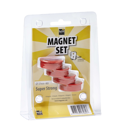 Magnet Red 37 mm