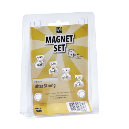 Magnet set pushpin ultra strong