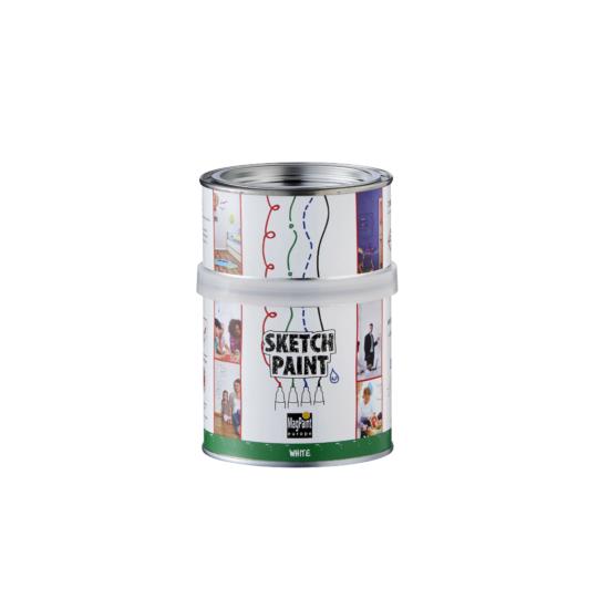 Filcfal (letörölhető) festék fehér fényes 500ml