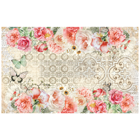 """Redesign Decoupage Decor Tissue Paper - Living Coral - 2 sheets (19"""" x 30"""")"""