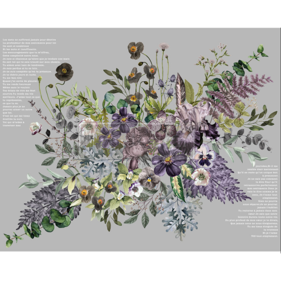Redesign Dekor Transzfer Vigorous Violet