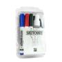 Picture 1/2 -Sketchkit (4 Markers + Spray + Microfiber)