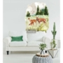 Picture 2/2 -REDESIGN DÉCOR TRANSFERS® — FAUNA SIZE 23″X 34″
