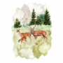 Picture 1/2 -REDESIGN DÉCOR TRANSFERS® — FAUNA SIZE 23″X 34″