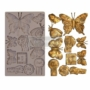 """Picture 1/2 -Redesign Decor Moulds® - Butterfly In Flight - 5"""" x 8"""", 8mm"""