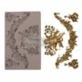 "Kép 1/2 - Redesign Dekor Szilikon forma - Divine Floral - 5"" x 8"", 8mm thickness"