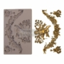 """Picture 1/2 -Redesign Decor Moulds® - Divine Floral - 5"""" x 8"""", 8mm thickness"""
