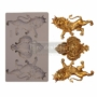 """Picture 1/2 -Redesign Decor Moulds® - Royal Emblem - 5"""" x 8"""", 8mm thickness"""