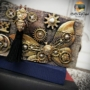"""Picture 3/4 -Redesign Decor Moulds® - Mechanical Insectica - 1 pc, 5""""x8"""", 8mm thickness"""