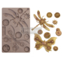"""Picture 1/4 -Redesign Decor Moulds® - Mechanical Insectica - 1 pc, 5""""x8"""", 8mm thickness"""