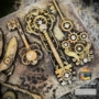 "Kép 3/3 - Redesign Szilikon Forma® - Mechanical Lock & Keys - 1 pc, 5""x8"", 8mm vastag"