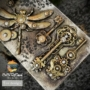 "Kép 2/3 - Redesign Szilikon Forma® - Mechanical Lock & Keys - 1 pc, 5""x8"", 8mm vastag"
