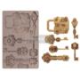 "Kép 1/3 - Redesign Szilikon Forma® - Mechanical Lock & Keys - 1 pc, 5""x8"", 8mm vastag"