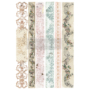 """Picture 1/2 -Redesign Decor Transfers® - Distressed Borders II - Total sheet size 24""""x35"""""""