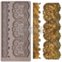 """Picture 1/5 -Redesign Decor Moulds® - CECE Border Lace - 1 pc, 5""""x10"""", 8mm thickness"""